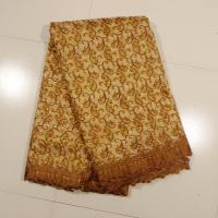 Wholesale Sign Organza Lace Fabric , Coffee 4 - 5kgs Weight from china suppliers