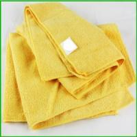 Wholesale Wholesale Black Friday Microfiber Yellow Towel For Christmas from china suppliers