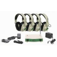 Wholesale Califone CLS729-4 4-Person Wireless Listening System Green, Frequency 72.900 MHz from china suppliers