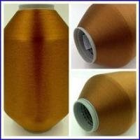 Wholesale Taffeta Polyester Color Weft Yarn 100D 130TPM from china suppliers