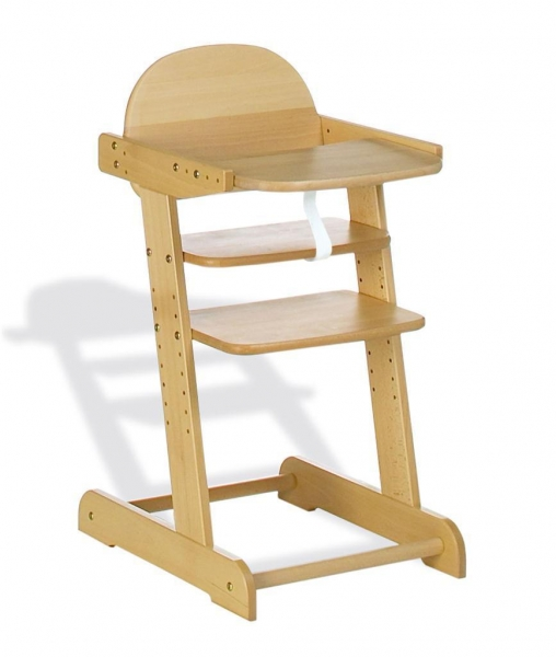 Baby High Chair Solid Beech Wood TC8191 of tianchengfur