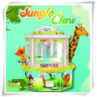 Wholesale Prize Game Machine Jungle Claw plush crane toy vending machine & toy crane from china suppliers