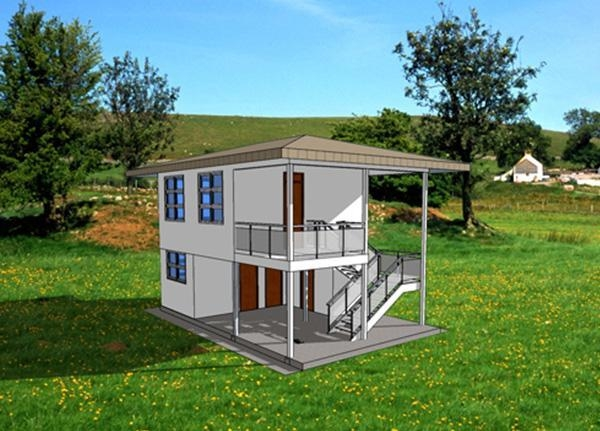 Two Storeies Container Villa Two Bedroom Of Item 45044519