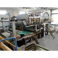 Wholesale Paper Machine English 20 TPD Inclined Short Table Tissue Machine from china suppliers