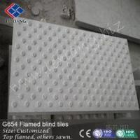 Wholesale Paving Stone Beautiful dark grey flamed blind tiles from china suppliers