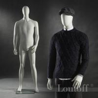 Buy cheap Fashion retails clothing store window man mannequins from sale from wholesalers