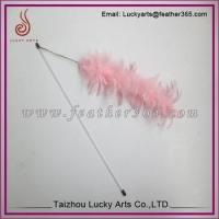 Feather cat teaser stick toy