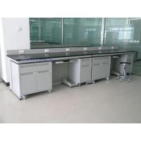 All steel lab side bench