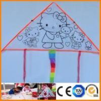 kids painting toy diy painting hello kitty easy flying kite
