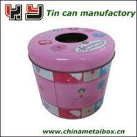 Wholesale Round Tissue Tin Box 135(D)*120(H)mm from china suppliers