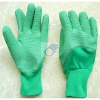 Cotton jersey latex coated glove FQ-50912