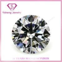 Wholesale Cubic Zirconia(CZ) 8mm White Brilliant Cut Cubic Zirconia Diamond from china suppliers