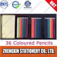 Wholesale 36 coloured pencils in tin box from china suppliers