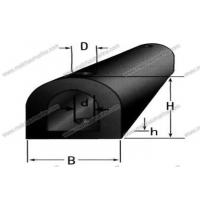 Wholesale Rubber Product D-type Rubber Fender from china suppliers