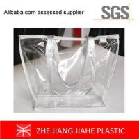 Wholesale non branded shopping bags Fashion Clear PVC Bag Tote bags from china suppliers