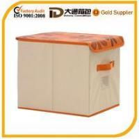 Wholesale Storage box Decorative Collapsible Fabric Storage Box from china suppliers