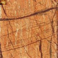Brown color look stone porcelain polished glazed floor tile made in china 600x600 for hotel