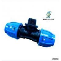 """Wholesale 20mm*1/2""""-110mm*4""""pp fitting male tee irrigation pipe fittings from china suppliers"""