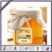 Wholesale New Design Adhesive Printed Honey Sticker Label for Glass Bottle from china suppliers