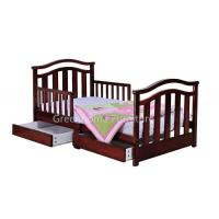 Toddler Bed With Side Drawers