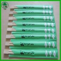 Wholesale Custom paper disposable chopsticks Chinese restaurant from china suppliers