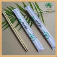 Wholesale Bamboo or wood japanese chopsticks logo from china suppliers