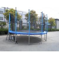 Wholesale 12FT Family Gardon Amuement Round Spring Trampoline With Net Inside (6 Leg - 12 Pole) from china suppliers