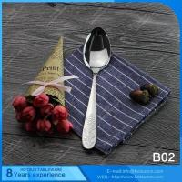 Wholesale All stainless steel items B02 Mirror polishing spoon from china suppliers