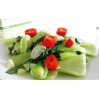 Wholesale Sauteed green vegetable with garlic from china suppliers