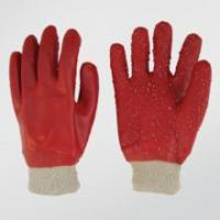 Wholesale chemical glove Nitrile fully coated glove with jersey liner knit wrist from china suppliers