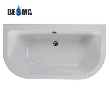 Besma low price custom size simple bathtub hot sale drop for Drop in tub sizes