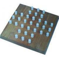 Wholesale Wooden solitaire board game / chess game set / wooden chess pieces from china suppliers