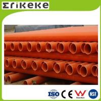 Wholesale PVC pipe and fittings Low price colored electrical pvc pipe sizes from china suppliers