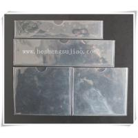 Wholesale Large custom clear PVC name card Jacket. PVC cover from china suppliers