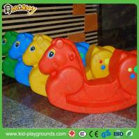 Wholesale Classic Horse Shape Plastic Rider Rocking Toy from china suppliers