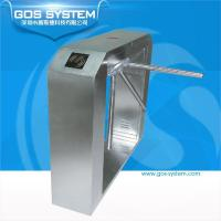 Wholesale GS21105 GOS SYSTEM finger print gate access control tripod turnstiles from china suppliers