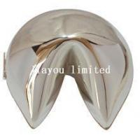 Silver fortune cookies quality silver fortune cookies for Fortune cookie jewelry box