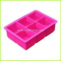 Wholesale Wholesale 6-Cavity Silicone Ice Cube Tray FYJ-046 from china suppliers