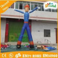 18ft customized double legs inflatable air dancer man