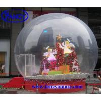 Wholesale Christmas Decoration Inflatable Snow Globe from china suppliers