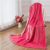 Wholesale Very Vintage Unusual Pretty Pink Soft Warm Flannel Blanket Blankets & Throws from china suppliers