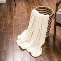 Wholesale Plain Colour Double Layer Flannel Blanket Blankets & Throws from china suppliers