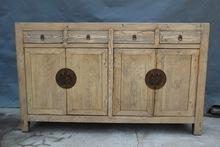 Quality Antique Chinese natural wooden sideboard for sale
