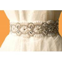 Wholesale Bridal Accessories / Crystal Rhinestone Bridal Sash / Vintage /Royal Steyle from china suppliers