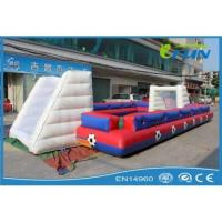 Wholesale inflatable human foosball field Product ID:IF-SS003 from china suppliers