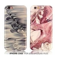 Simple marble texture original smooth surface TPU phone case