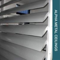 Wholesale ALUMINUMSOLIDPANEL AIRFOIL SUN LOUVERS from china suppliers