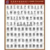 Wholesale DIY English letter of alphabet cellular phone drop from china suppliers