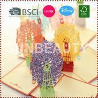 3D Pop-Up Sky Wheel Greeting & Gift Cards