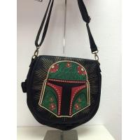 Wholesale STAR WARS Loungefly x Star Wars Black Boba Fett Satchel from china suppliers